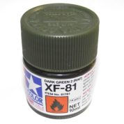 XF-81   TAMIYA ACRYLIC PAINT DARK GREEN