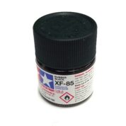 XF-85   TAMIYA ACRYLIC PAINT RUBBER BLACK
