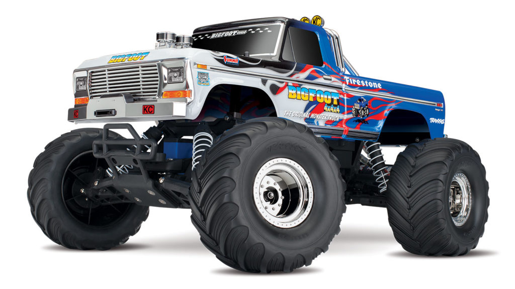 Traxxas 36034-1 1/10 Bigfoot No. 1 2WD RTR Electric Off Road RC Truck