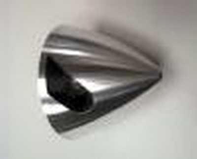 3-1/4' FAI  2-BLADE 120-SLOT TRU TURN ALLOY SPINNER TT3262B1