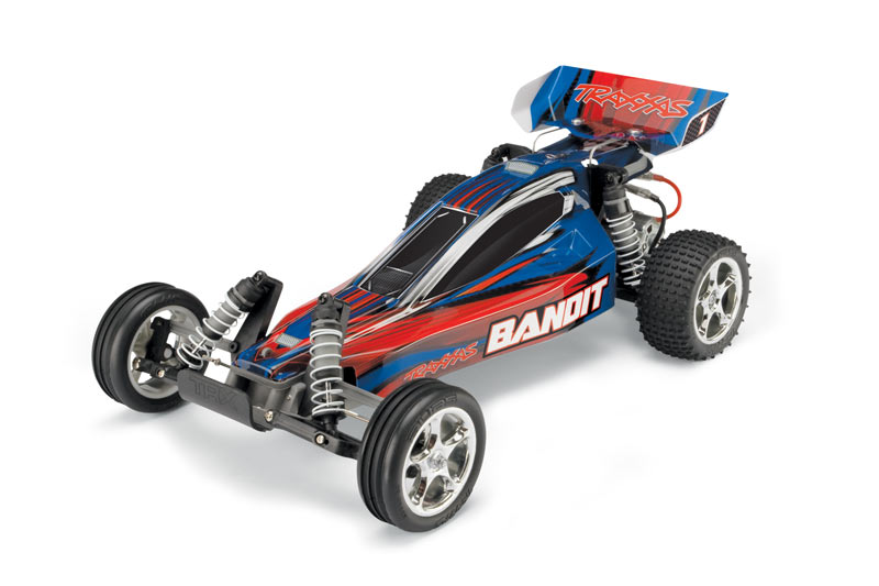TRAXXAS BANDIT BUGGY 1/10 RTR BLUE 24054-1