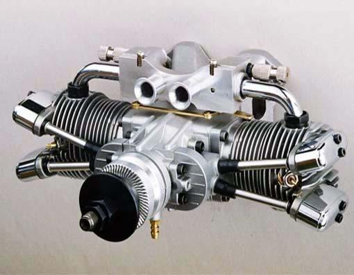 SAITO FA-182TD TWIN GLOW ENGINE 4CYCL