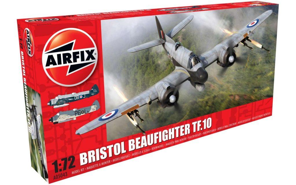 Bristol Beaufighter Mk.X (Late) 1/72 AIRFIX 05043 Plastic Model Kit