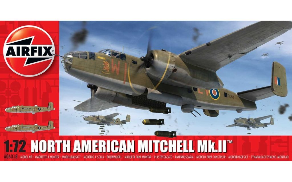 AIRFIX North American Mitchell Mk.II™ 1:72 06018 Plastic Model Kit