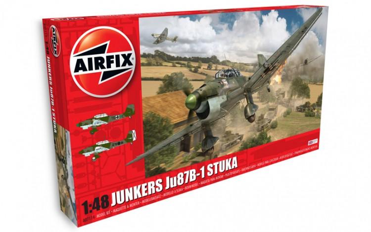 JUNKERS JU87B1 1/48 AIRFIX 07114 Plastic Model Kit