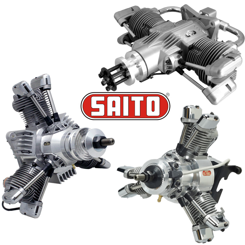 SAITO engines