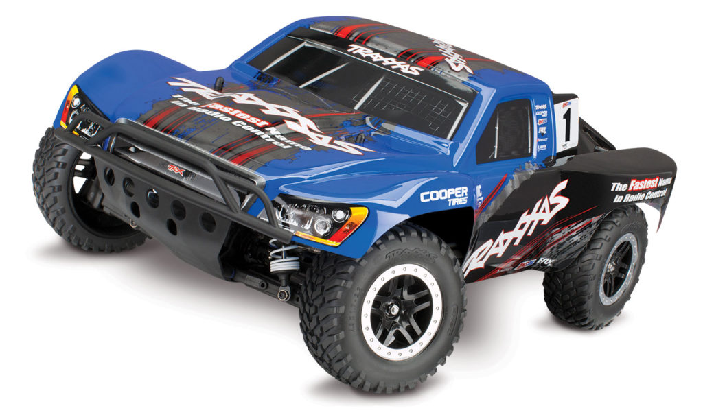 TRAXXAS SLASH 4X4 TRAXXAS RACING EDITION BLUE 68086-4