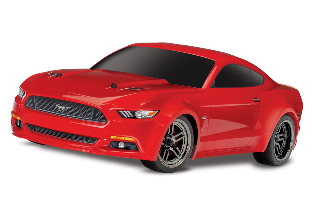 TRAXXAS FORD MUSTANG GT 1/10 AWD ON-ROAD RED  83044-4