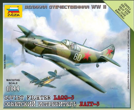 ZVEZDA 1/144 SOVIET FIGHTER  Plastic Model Kit 6118