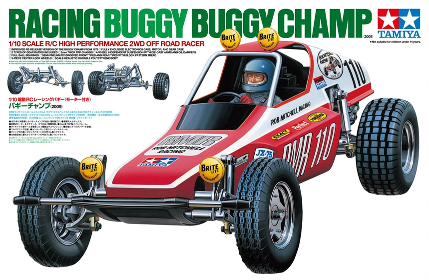 TAMIYA BUGGY CHAMP 2009 RC KIT 58441