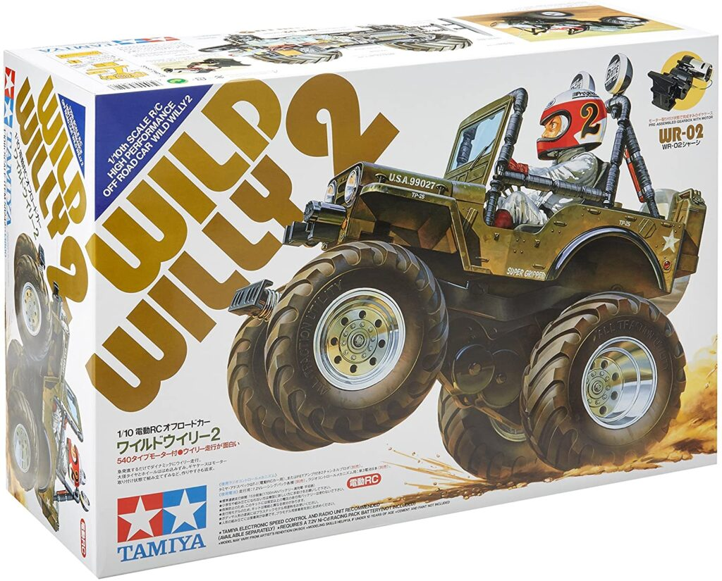 TAMIYA WILD WILLY 2 RC KIT 58242