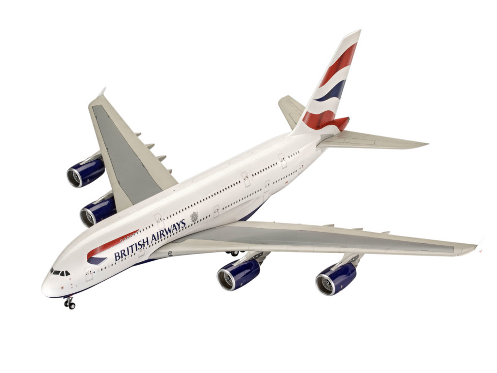 REVELL A380-800 BRITISH AIRWAY Scale: 1:144 03922 PLASTIC MODEL KIT