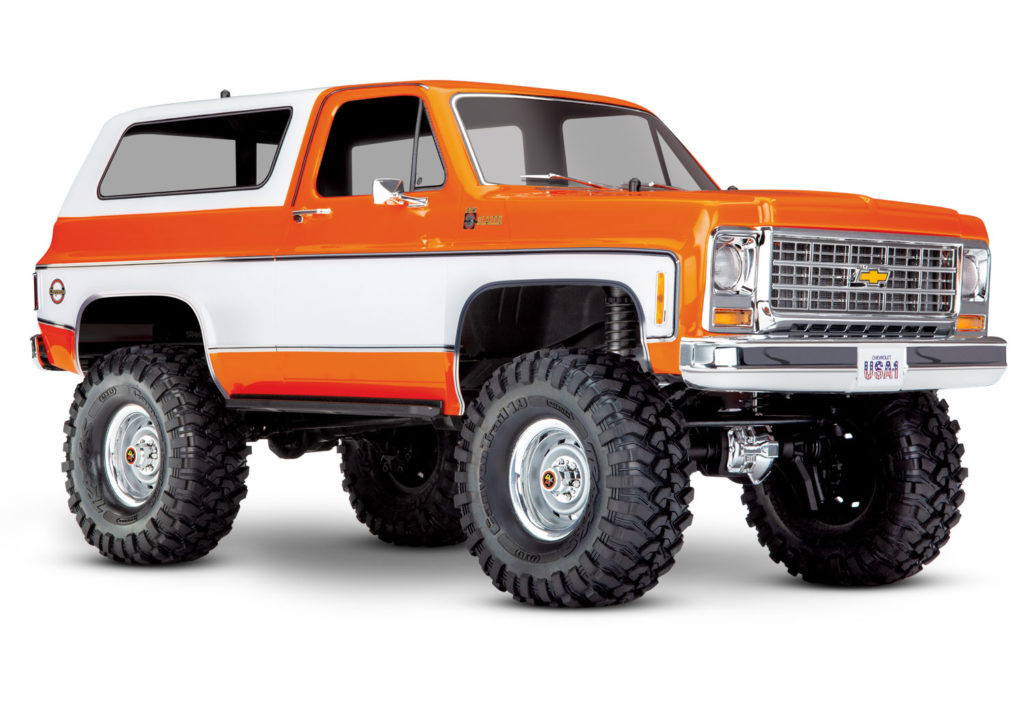 TRAXXAS TRX-4 CHEV BLAZER ORANGE 82076-4 OR