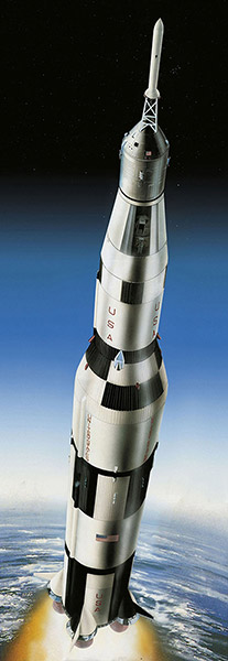 REVELL Apollo 11 Saturn V Rocket Scale: 1:96 03704