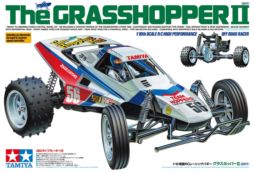 TAMIYA GRASSHOPPER 11 RC KIT T58643