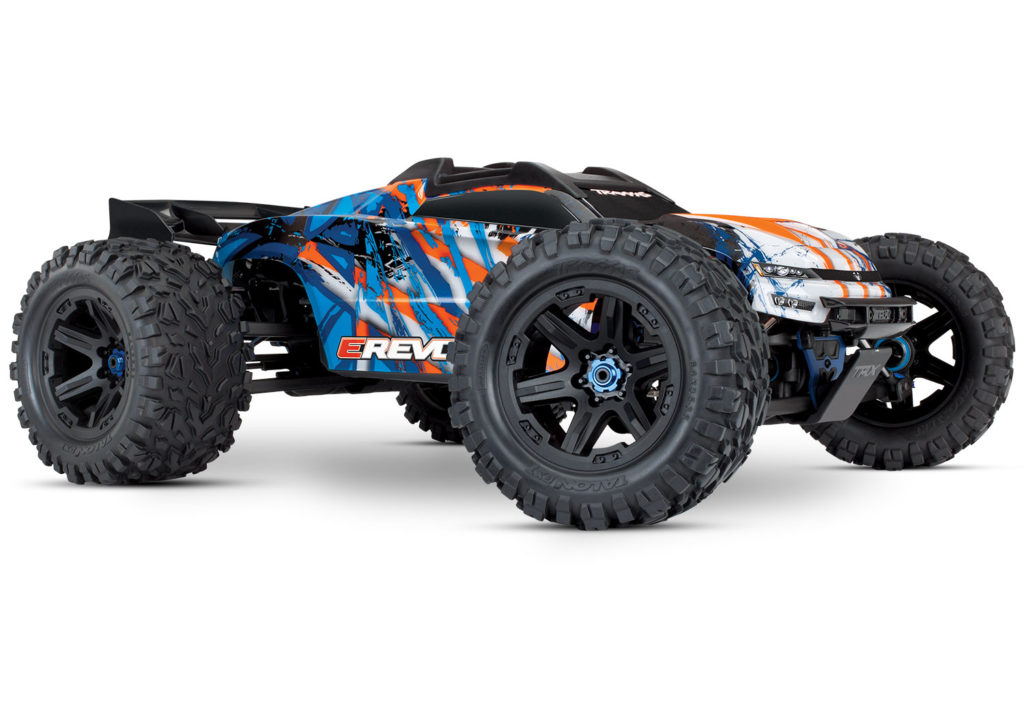 TRAXXAS RC E-REVO 2 ORANGE 860864OR
