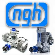 NGH Gas Powered RC Model Engines